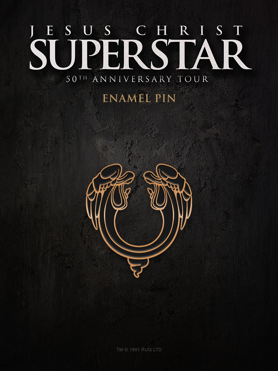 Jesus Christ Superstar Logo Enamel Pin